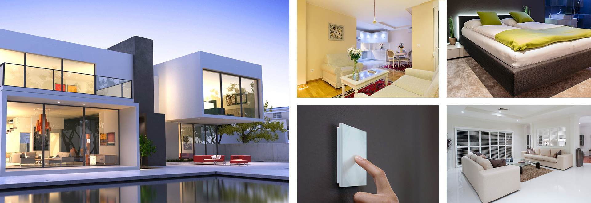 Smarthome Nord Loxone Real Smart Home Selent Collage
