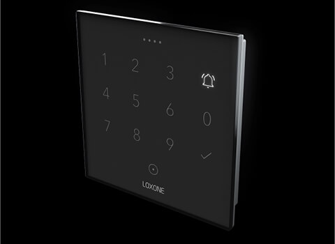 Smart Home Nord Loxone NFC Code Touch Alarm
